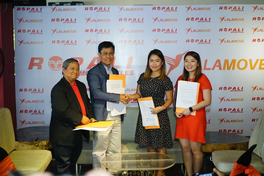 [Left to Right] Mr. Carlos Pasion, Mr. Francisco Josef, Ms. Dannah Majarocon, and Ms. Akiko Sumulong
