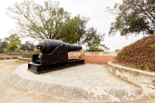 二鯤鯓砲台為全台第一座新式砲台