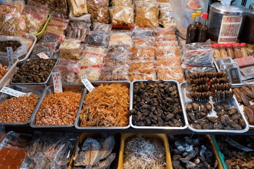冬至飯-海鮮乾貨