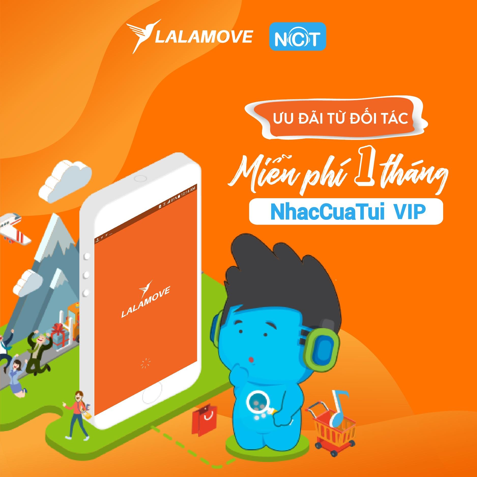 Ưu đãi từ Lalamove & NCT