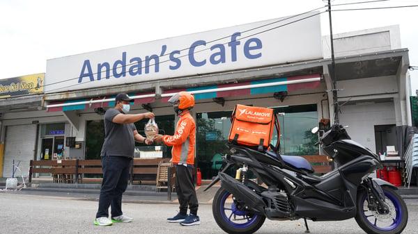 Andan Cafe is a Sama-Sama Lokal merchant