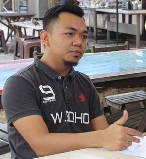 Bakri, founder of Warung Soho