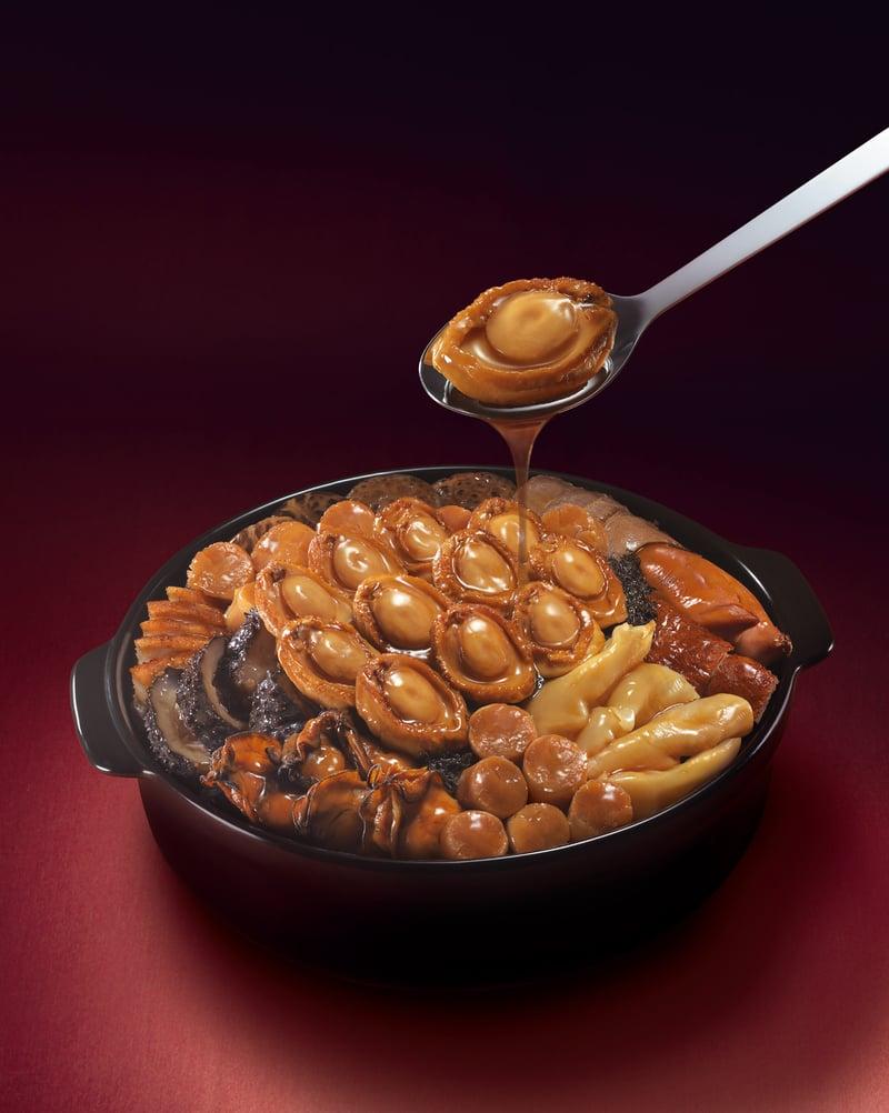 鴻星2012鮑魚盤菜