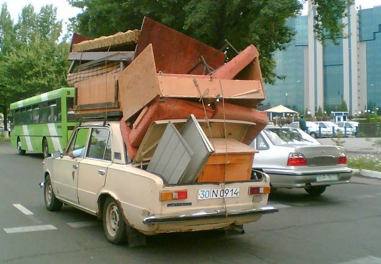 Lalamove delivers furnitures and boxes
