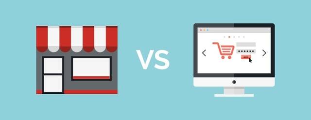 brick and mortar vs ecommerce