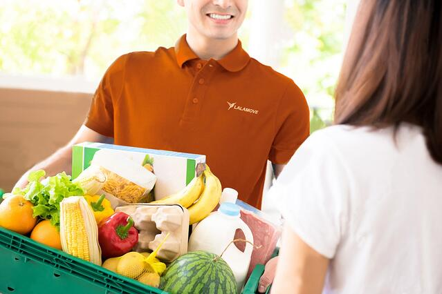 Lalamove door to door delivery groceries