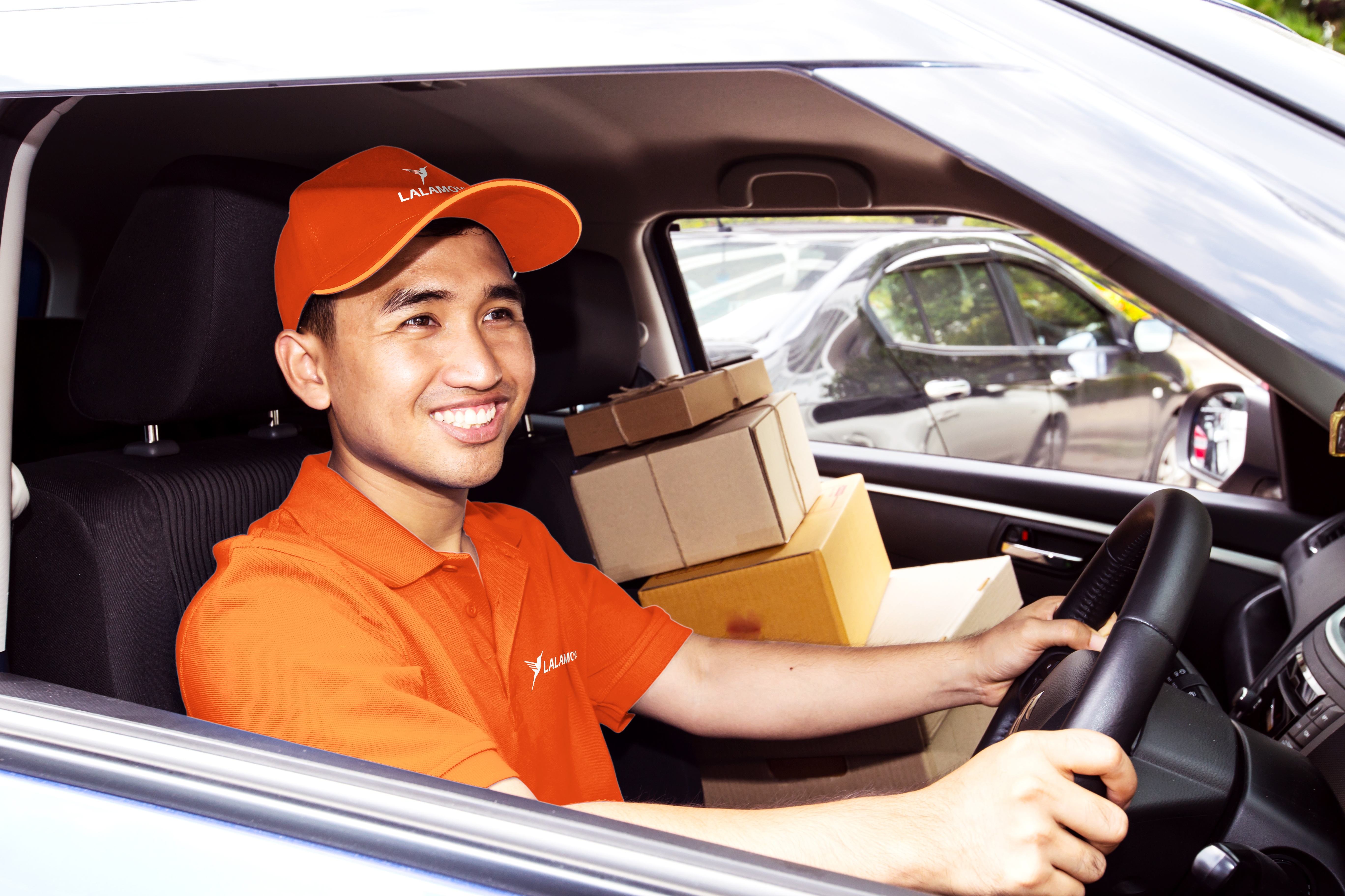 Lalamove delivers furnitures and bulky boxes