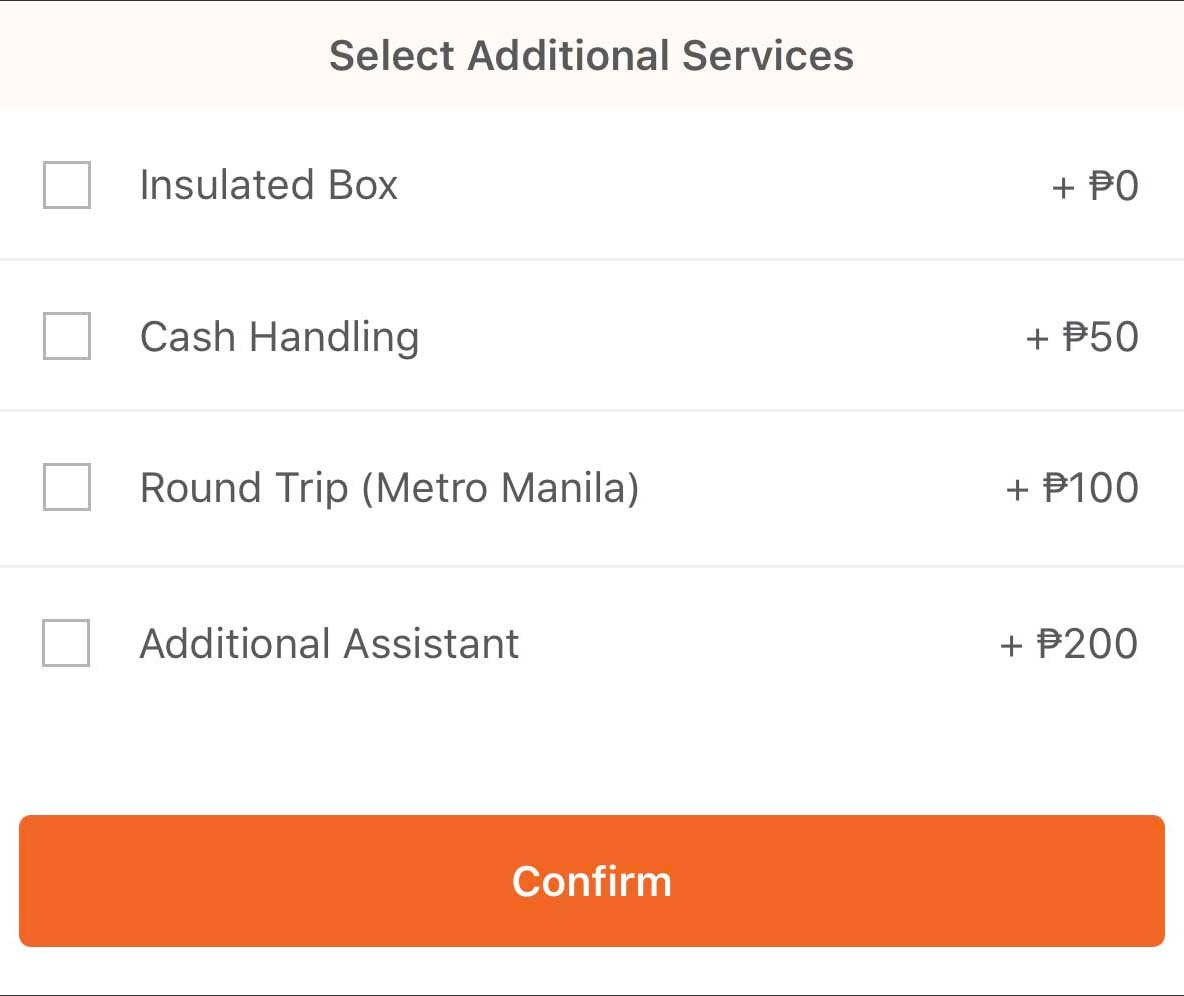 Lalamove Manila services