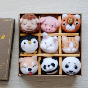 DIY羊毛氈禮盒材料包 6款 #28754 -2