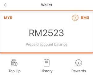 Lalamove Wallet Value