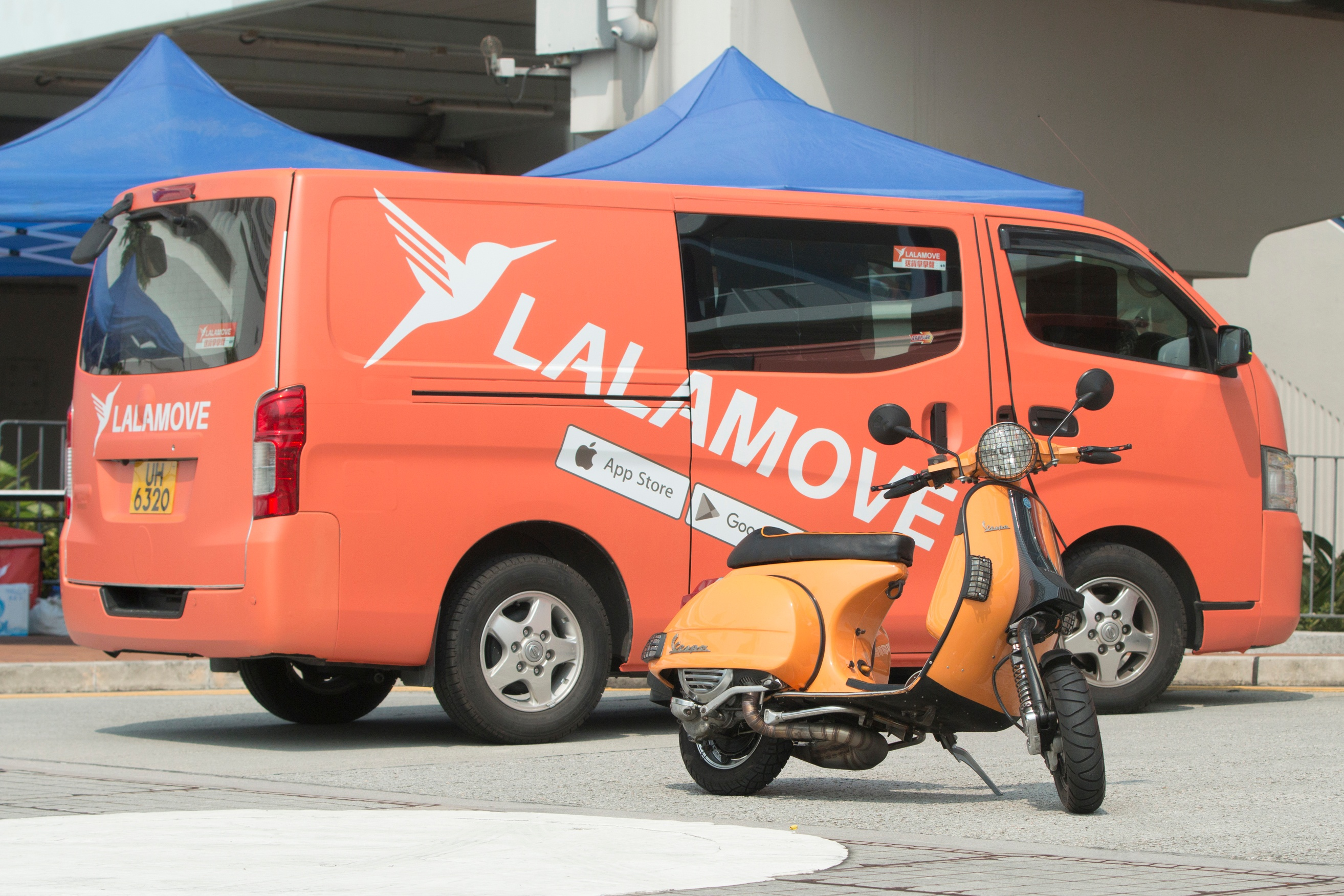 lalamove vehicles