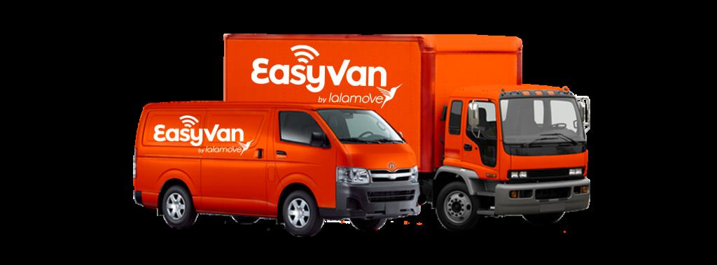 EasyVan Professional On-demand Delivery Fleet Van and Truck