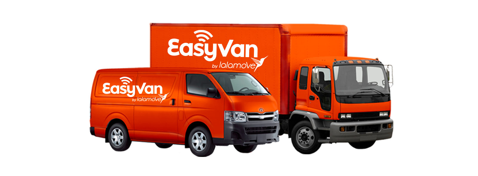 EasyVan Professional On-demand Delivery Fleet Van and Truck