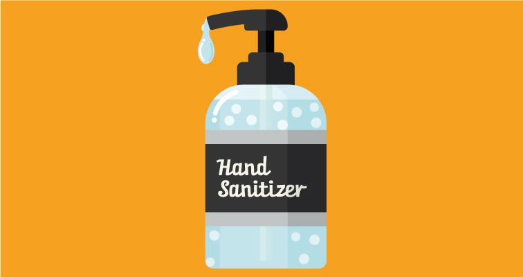 Minimise the impact of the coronavirus outbreak on your business by placing a hand sanitiser dispenser in your outlet