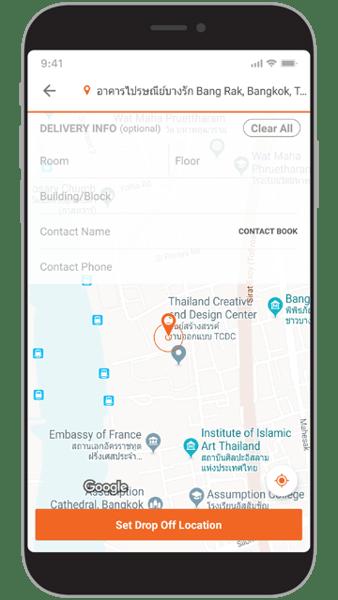 New Lalamove App Screen TH-EN-02