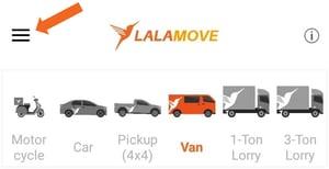 Lalamove app start icon
