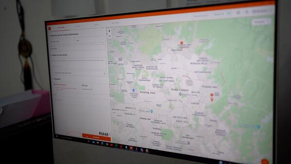 Lalamove delivery tracking