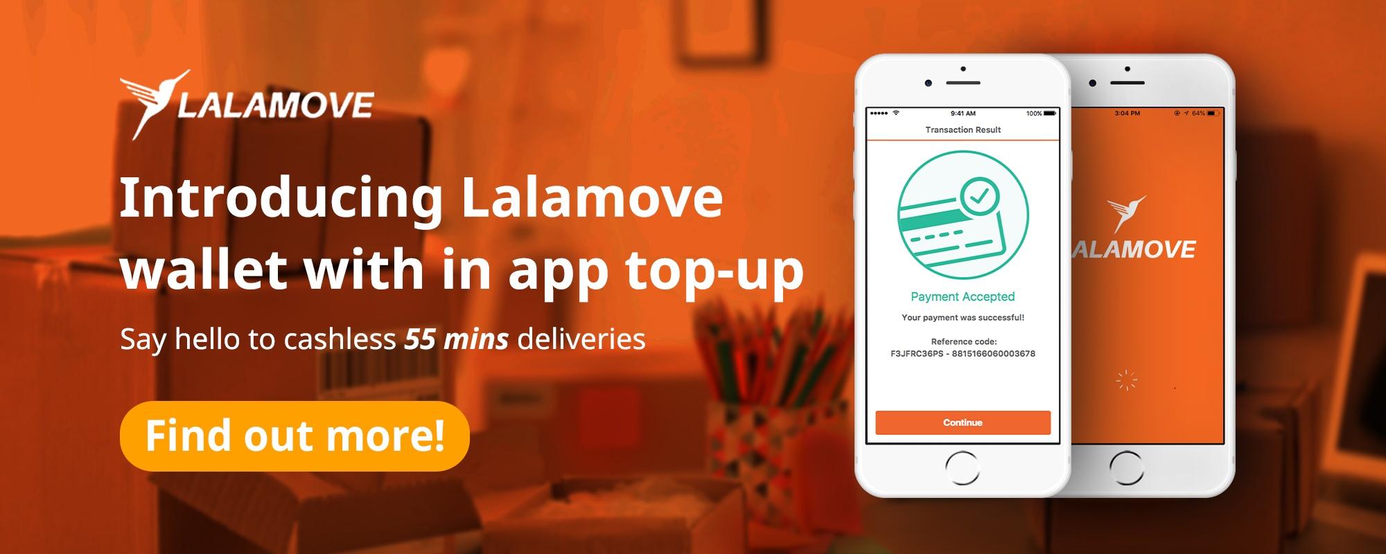 Lalamove - Lalamove Wallet & In App Top Up