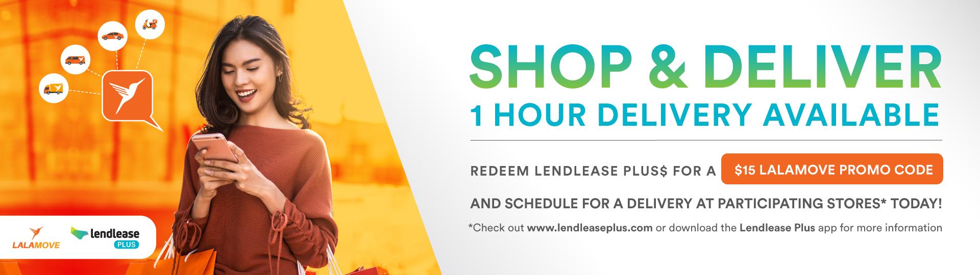Shop&Deliver Lendlease Plus