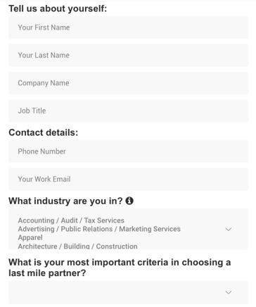 pengiriman untuk bisnis
