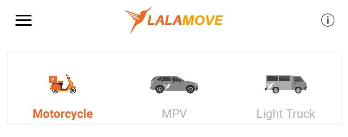 Step 1 Pabili Lalamove