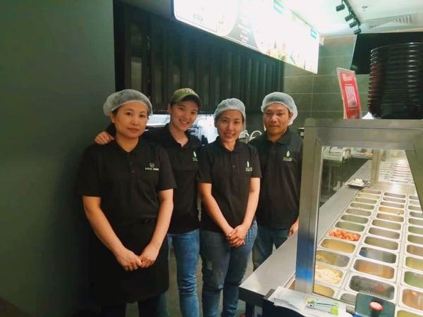 The people behind Salad Atelier