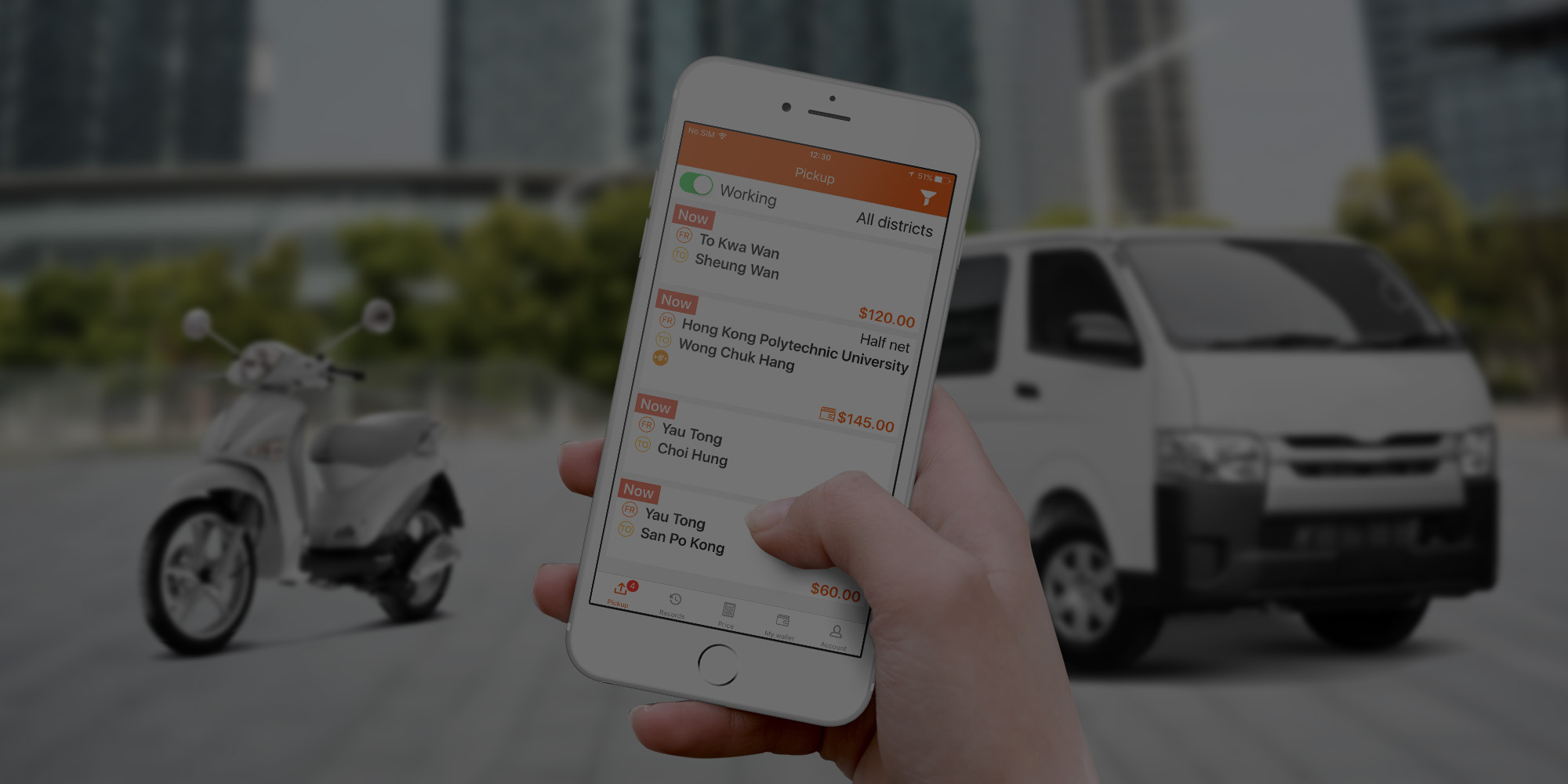 Lalamove Advertisement Become a driver and drive with Lalamove