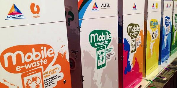 mobile e-waste collection boxes
