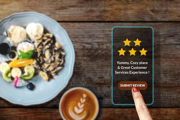 Support local businesses with positive reviews