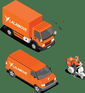 vehicles lalamove