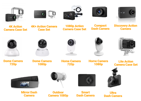 yi technology cameras