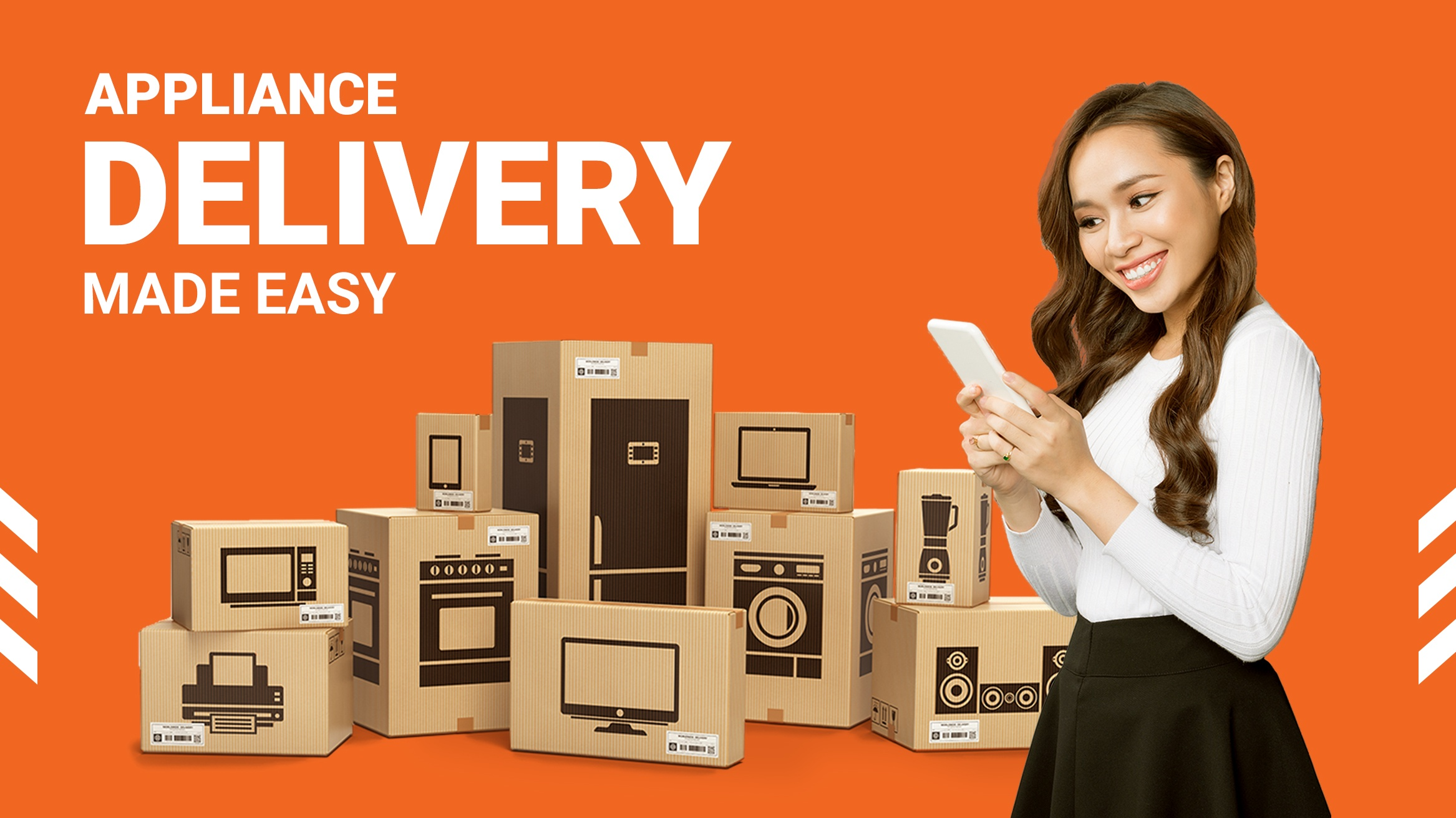 Hassle-Free Appliance Delivery and Other Bulky Items with Lalamove!