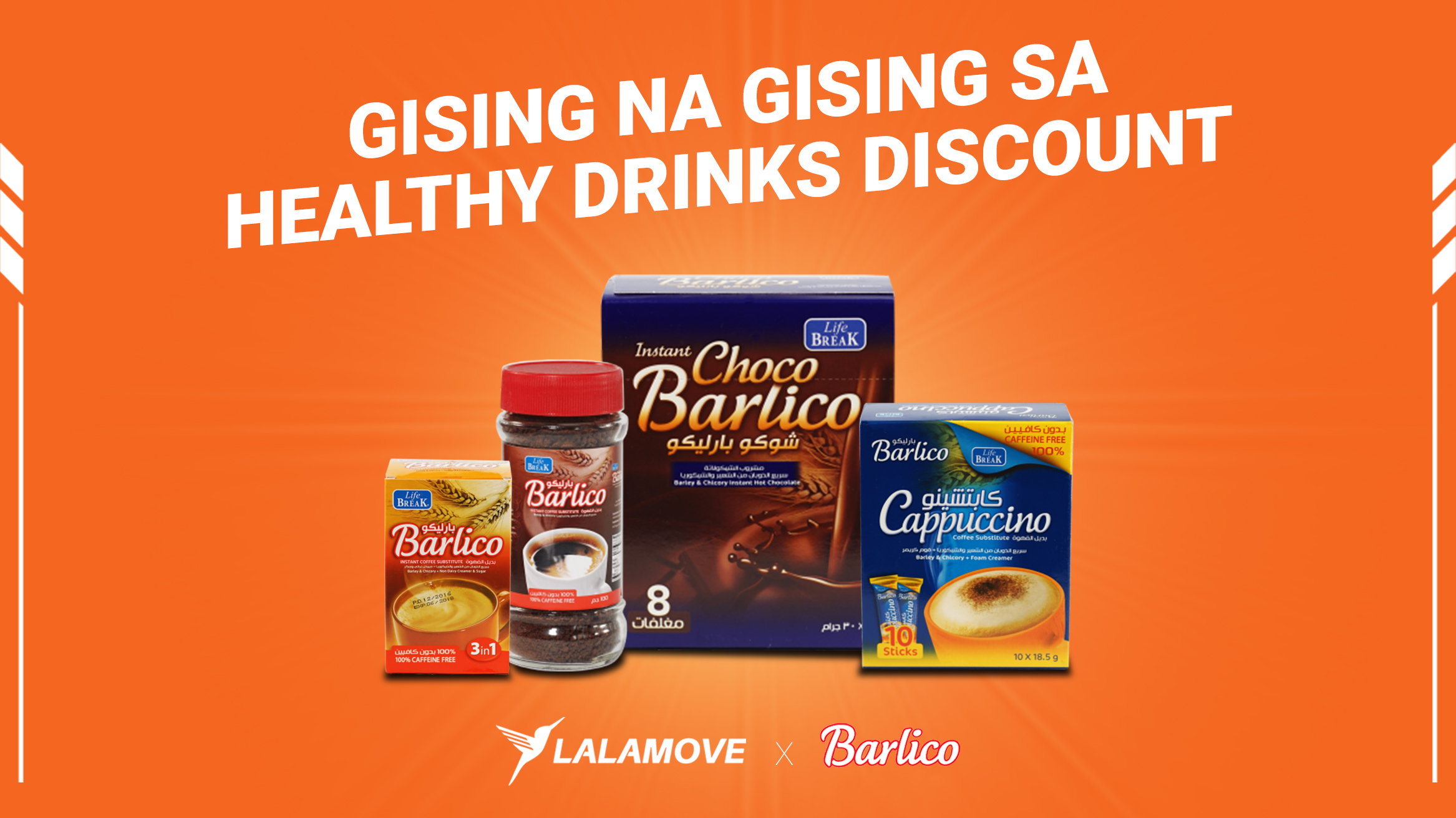 PANALOMOVE: Discount sa healthy drinks para sa Lalamove partner drivers mula sa Barlico