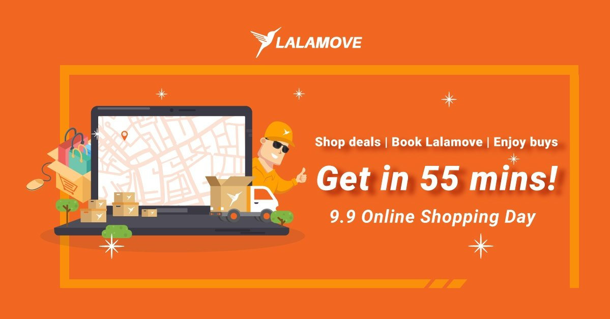 How to use Lalamove for 9.9 Shopping Day