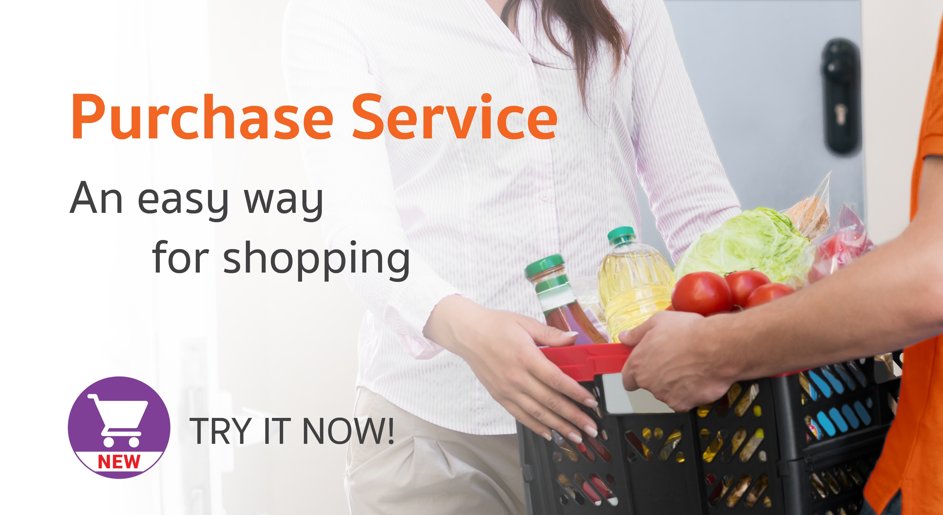"""Purchase Service"", the shopping assistance that fits with the demands of busy customers in Bangkok"