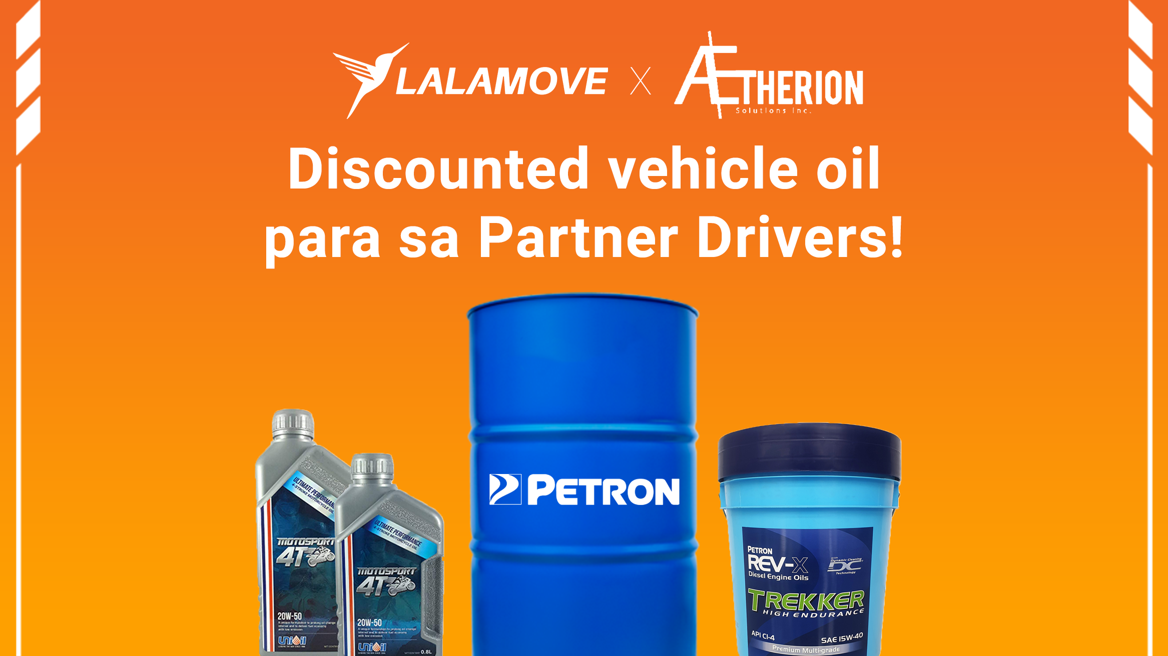 PANALOMOVE: Sulit at swabeng oil lubricant dala ng Lalamove at Aetherion Solutions Inc.