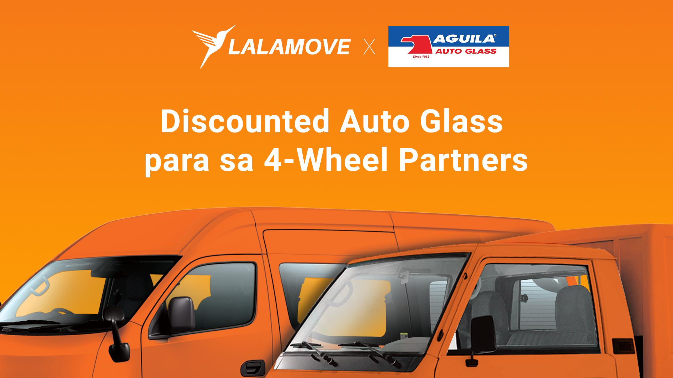 PANALOMOVE: Mas murang auto glass para sa mga 4-wheel Partner Driver