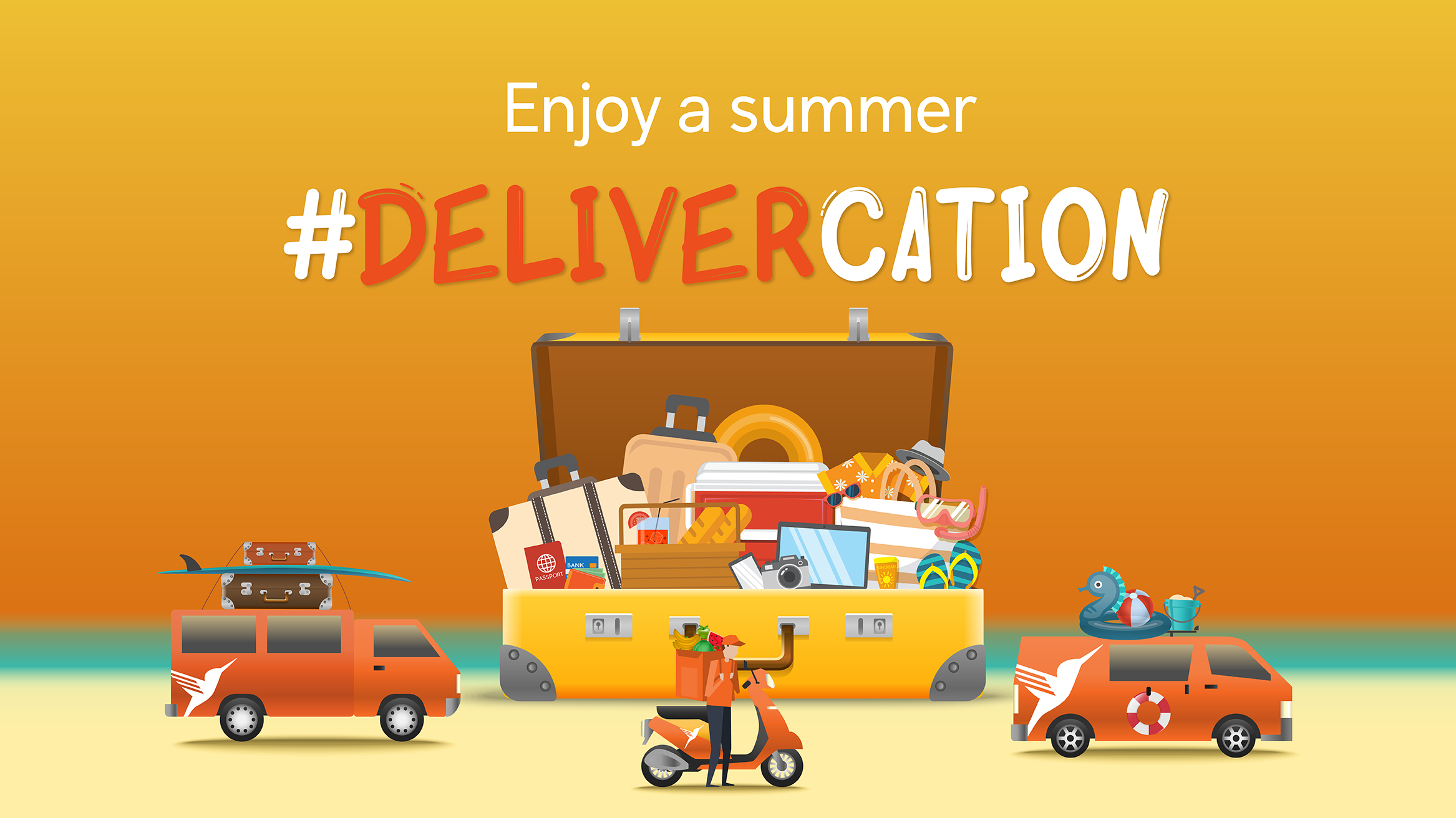 What's Delivercation & How to Enjoy One!