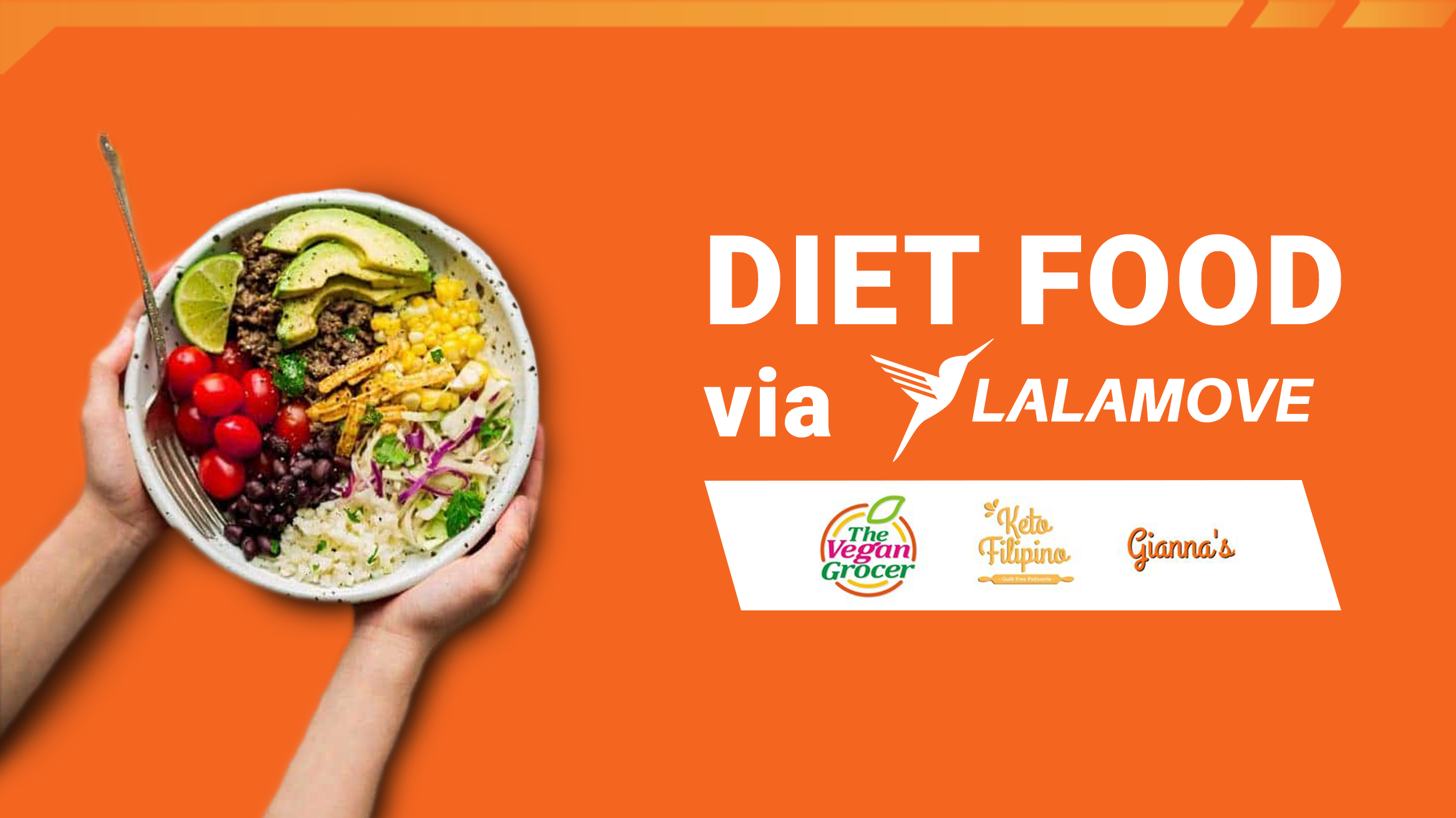 Get these Delicious Diet Food via Lalamove!