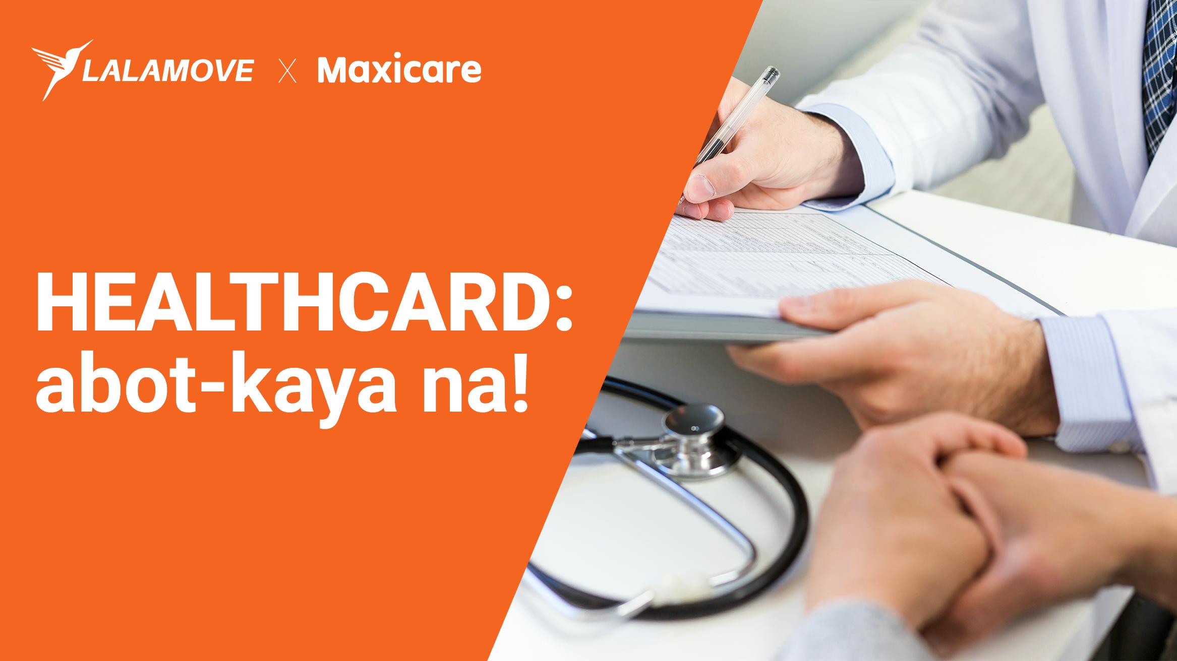 PANALOMOVE: Abot-kayang Maxicare Healthcard para sa mga Lalamove Partner Driver!