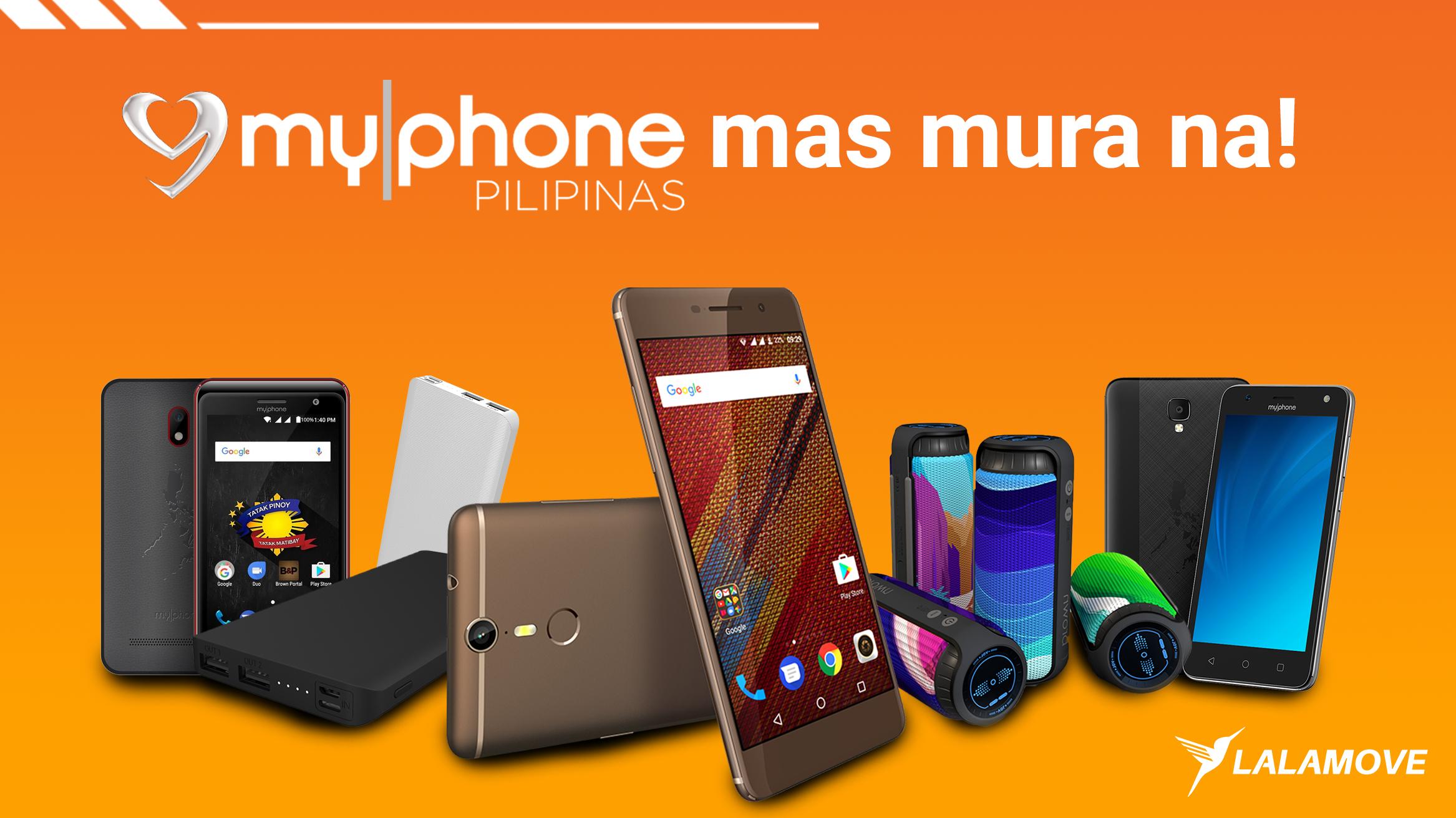 PANALOMOVE: Hanggang 40% discount sa MyPhone products para sa mga Lalamove Partner Driver