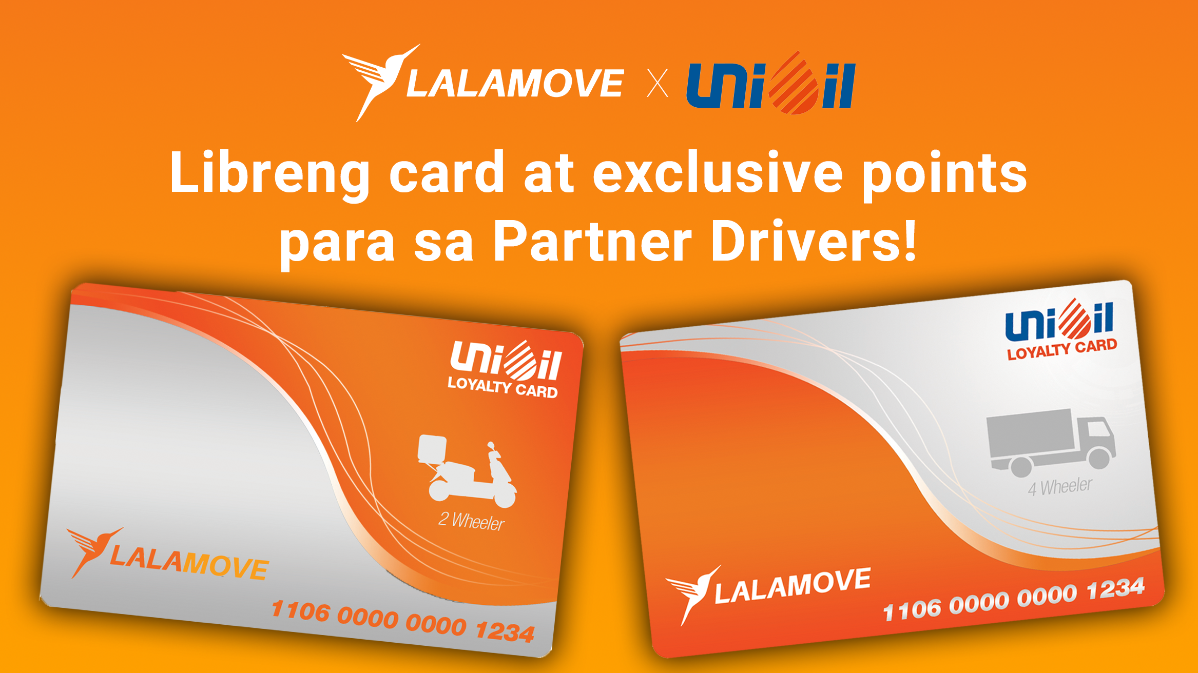 PANALOMOVE: Libreng Loyalty Card at exclusive bonus points para sa mga partner driver mula sa Unioil