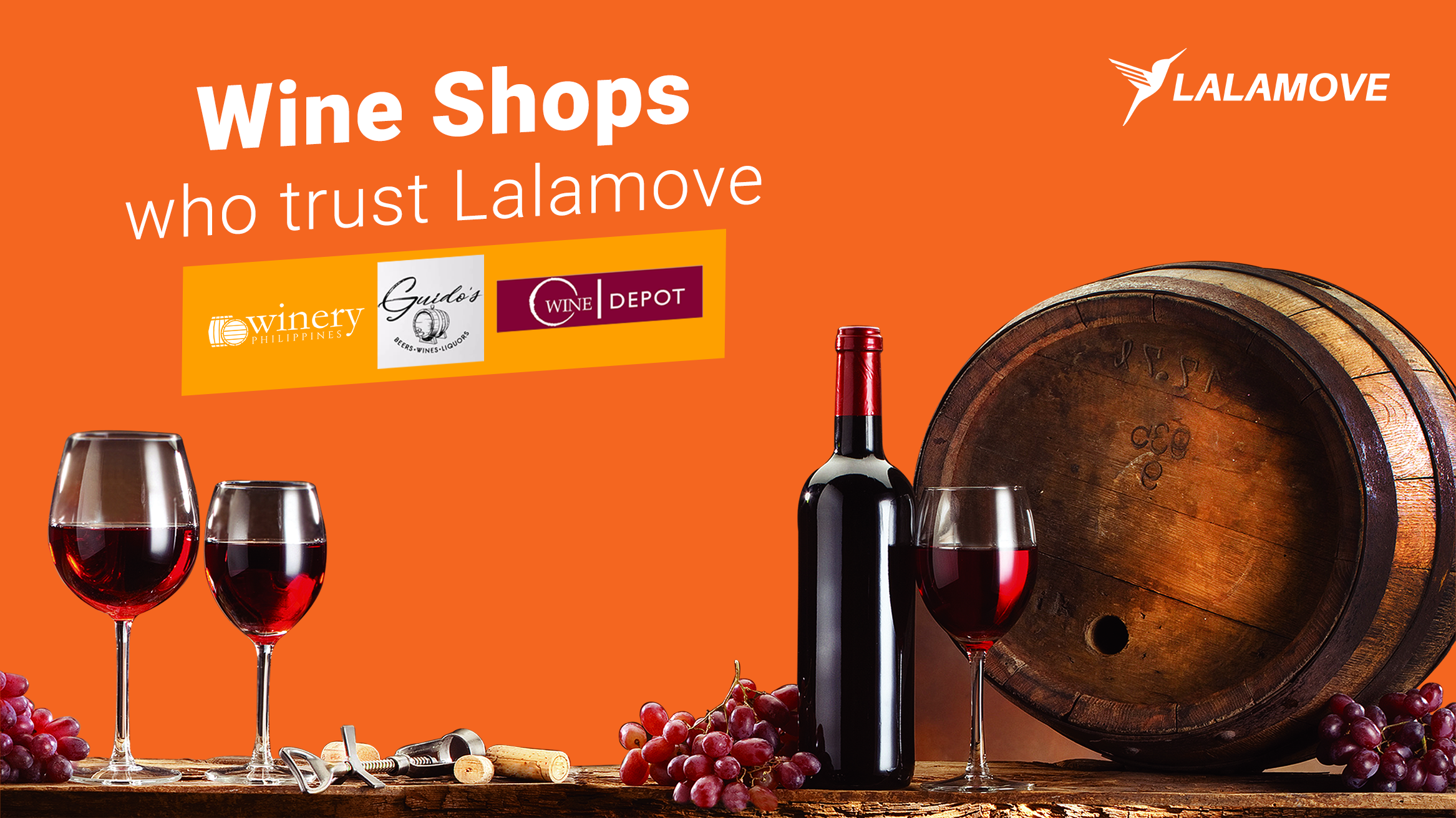 Partners in Wine: Liquor Shops who Trust Lalamove