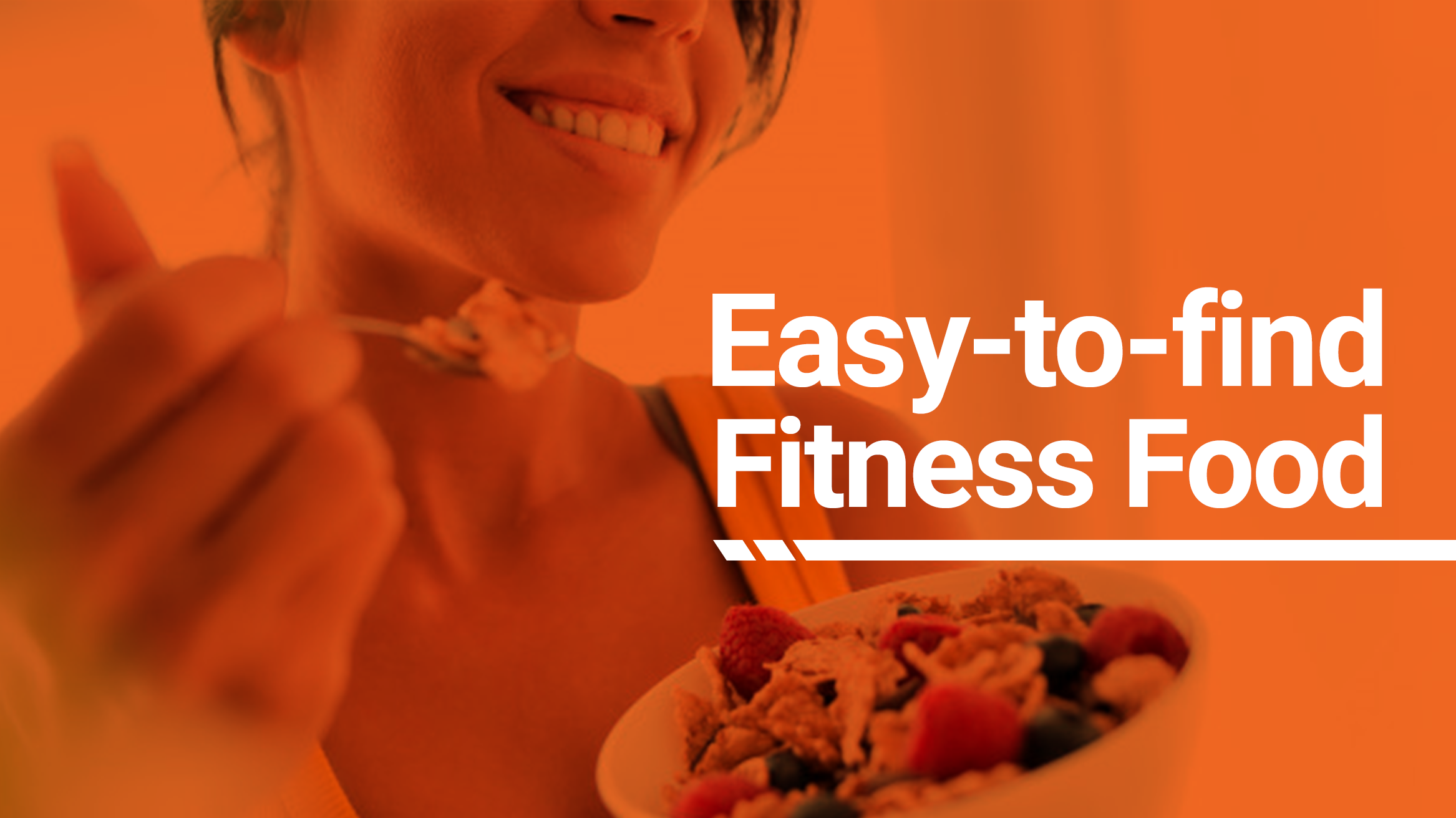 Fitness Food That's Easy to Find! (And Easier to Get via Delivery!)