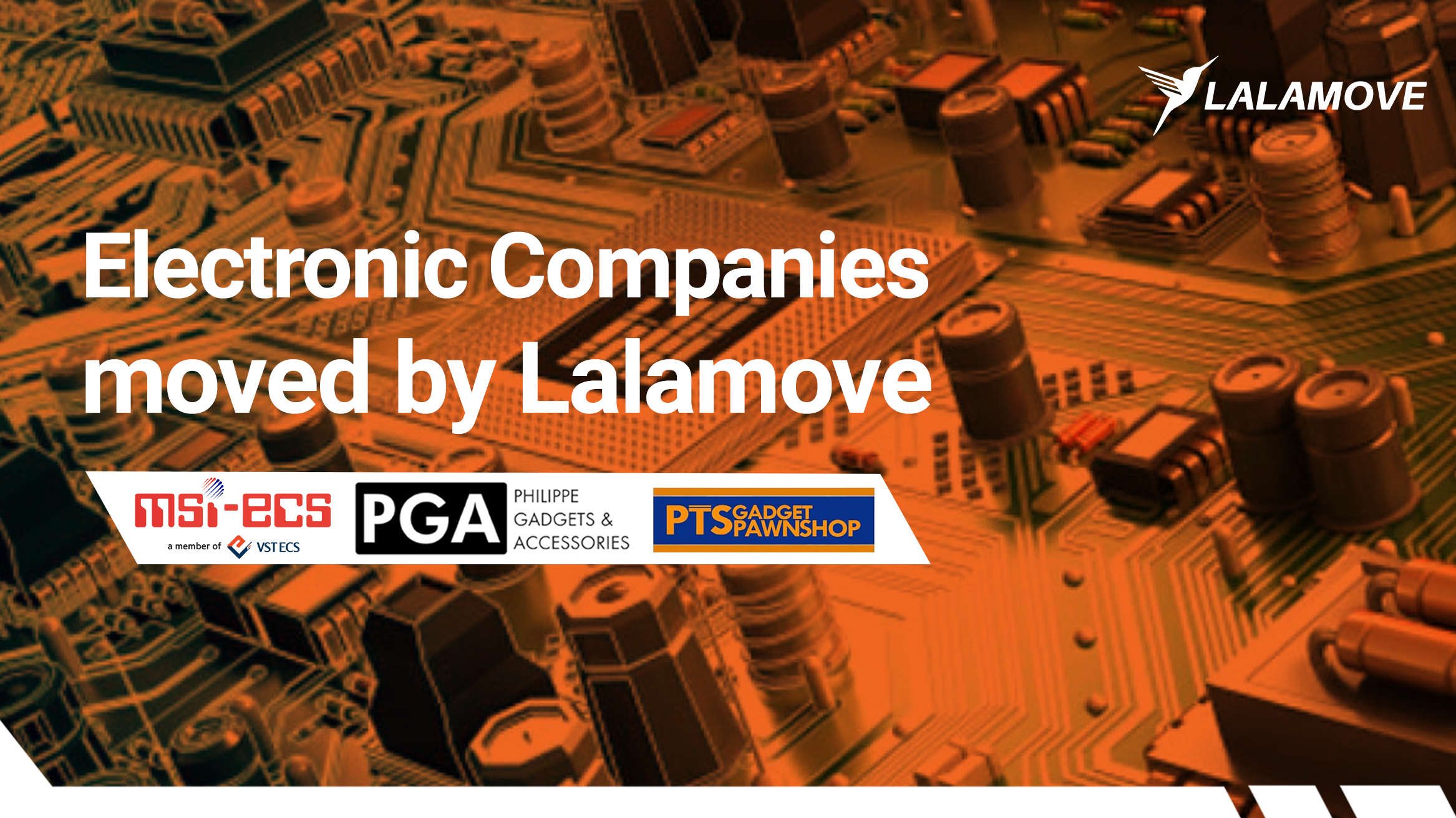 3 Electronic Companies Who Trust Lalamove's On-Demand Delivery