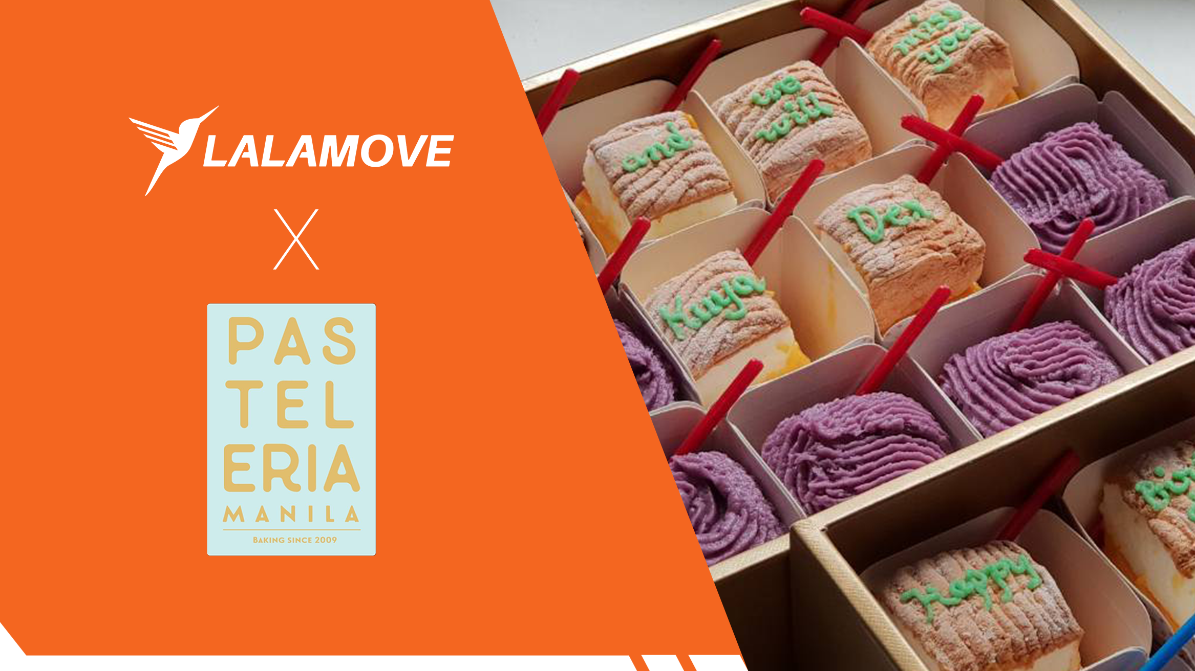 Pasteleria Manila's bitter journey now sees a better future made even sweeter with Lalamove!