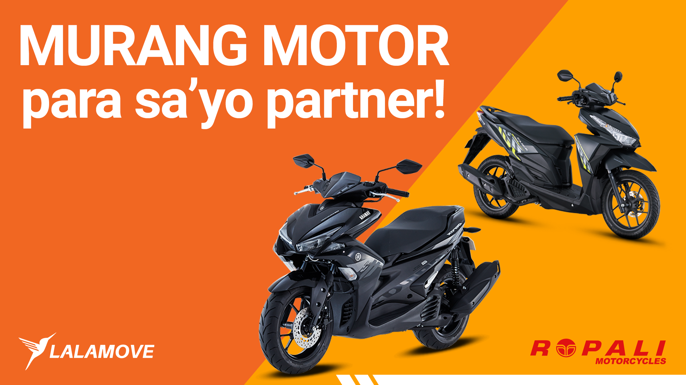 Discount at financing para sa Lalamove Partner Drivers hatid ng Ropali Motors!