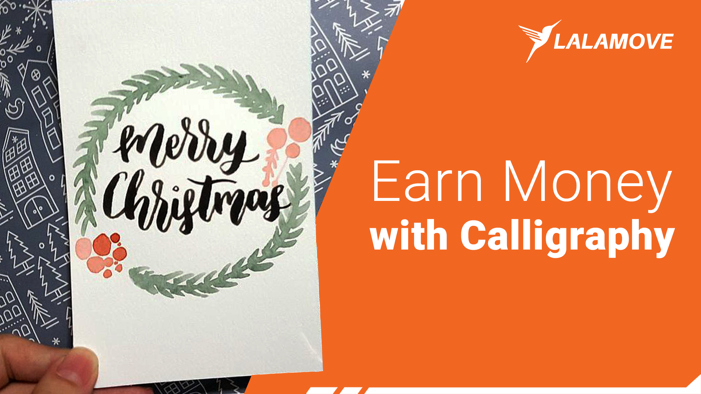 Write on the Money: Calligraphy Business for Christmas!