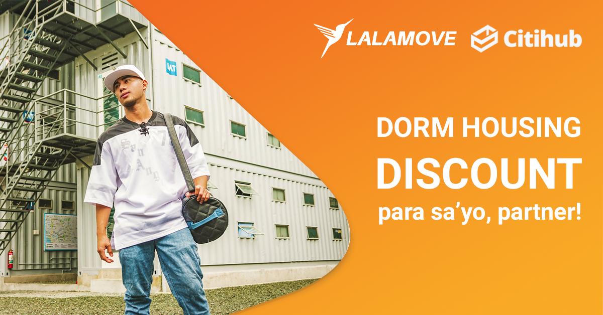 PANALOMOVE: Discount sa Dorm Housing mula sa Citihub para sa Lalamove Partner Drivers