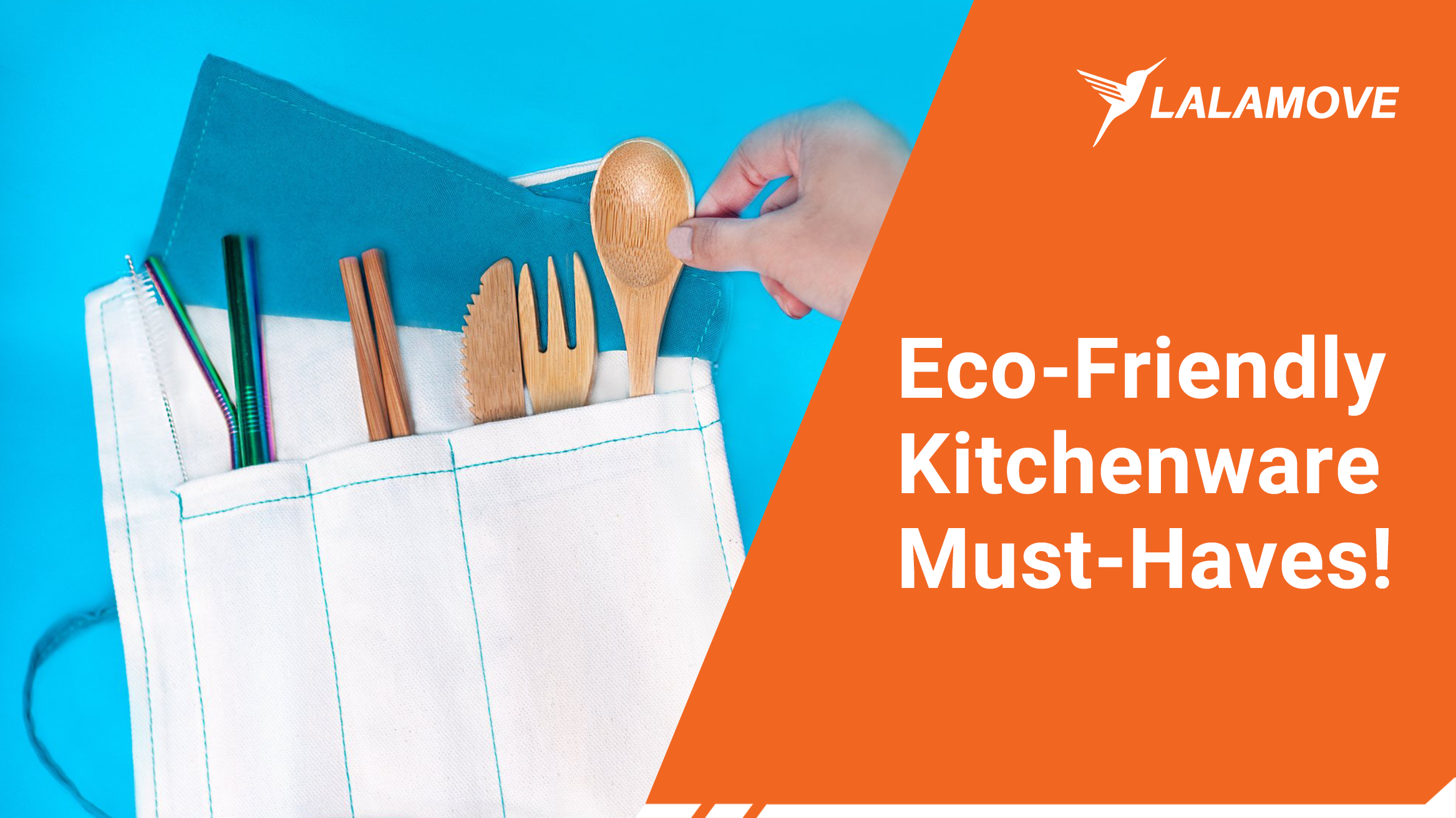 3 Eco-Friendly Kitchenware and Where to Get Them